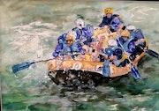 Rafting. Dany Gaffet