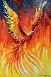 Phoenix bird.