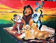Le roi lion et ses amis. Colette Trôme