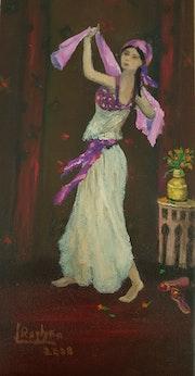 Arabian Dancer. L'orientaliste