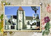 Église st Germain de Charonne Paris XXe.