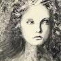 Jeune fille en noir et blanc. Electre