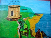 Temple de Mussenden, Irlande. Higrek