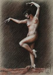 Louise Brooks – 10-10-20. Corné Akkers Kunstwerken