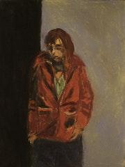 La veste rouge.