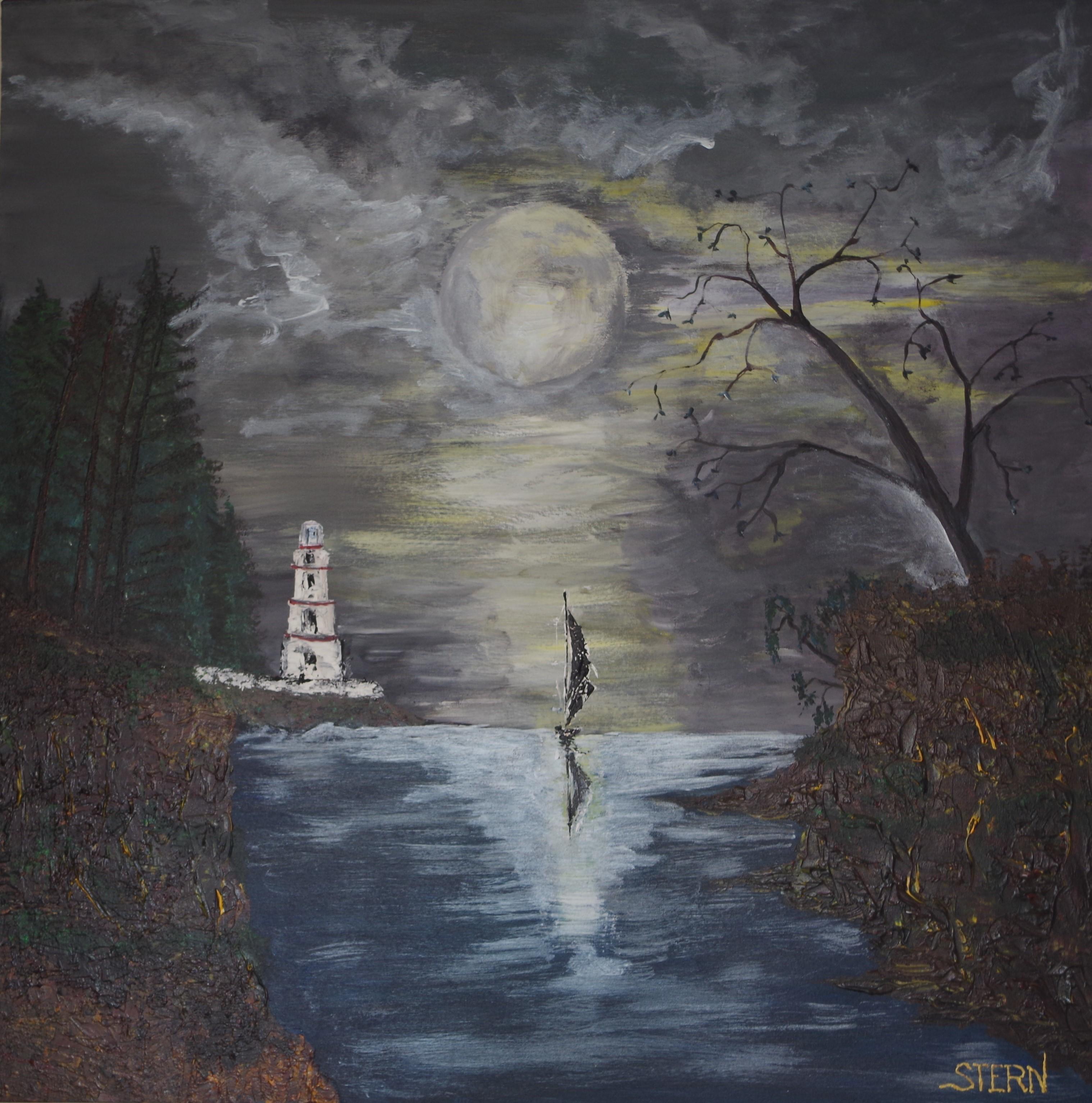 Peintures, Clair de lune, Page 435, Oeuvres d'Artistes