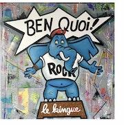 L'éléphant bleu rock. Choup