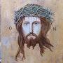 Jesus à la couronne. Jean Michel Coriou