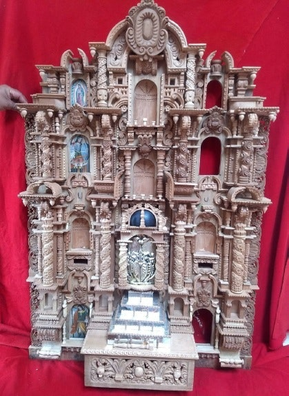 San Sebastian church's scale alterpiece - Cusco, Perú. Percy Lazo Percy Lazo Mamani