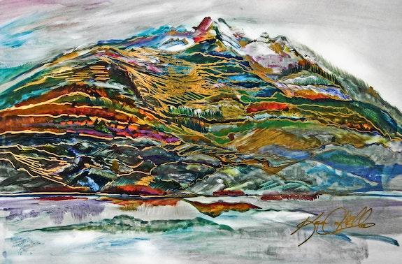 Cheam Peak Chilliwack. Karen Colville Canadian Nature Artist Karen Colville