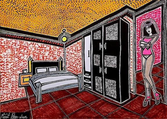 Israeli art painter artist modern drawings. Mirit Ben-Nun Mirit Ben-Nun