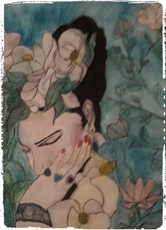 Frida kahlo - Artiste Peintre - Mexicaine. Anne Bazabidila Anne. B