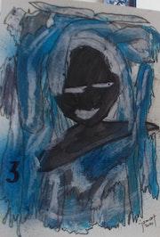 Portrait de personne perdu 3. Jamart