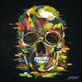 Color skull. Jacques Rochet
