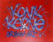 Graff - Konk-Kerne Urban Art - Concarneau Bretagne. Pk29
