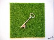 La clef de sol.