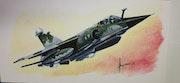 Mirage f1cr. Forangeart F. Baldinotti Peintre De l'air
