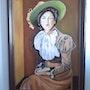 Peinture à l'huile sur panneau de 50 X 70 cm de Henry Prost artiste coté. Prost's Art