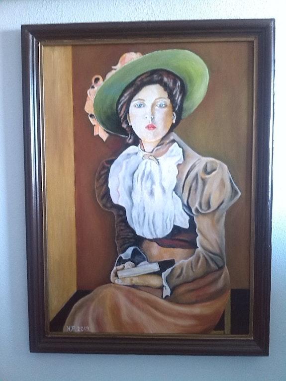 Peinture à l'huile sur panneau de 50 X 70 cm de Henry Prost artiste coté. Henry Prost Prost's Art