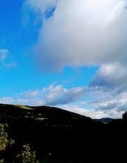 Cielo con nubes. M. Pilar