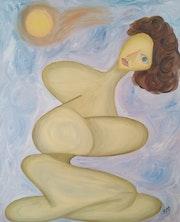 Woman in the sun. Rafael Torres