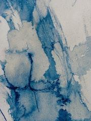 Sans titre bleu. Jean Paul Faivre