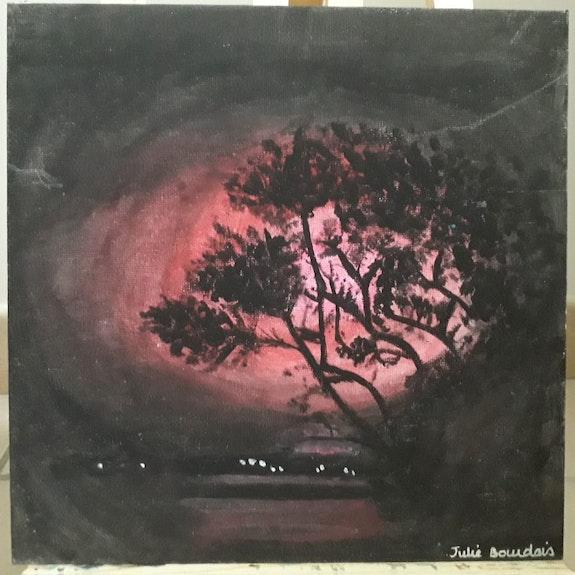 L'arbre de la nuit rouge. Julieamrita