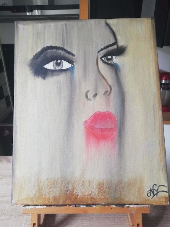 Le visage. Virginie Lamarque