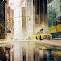 New York City sous la neige. Vincent Bourdin