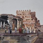 Temple Nandi à Tanjore II.
