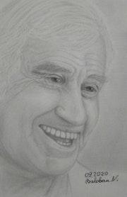 Portrait Jean-Paul Belmondo.