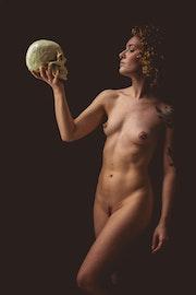 La femme et la mort. Baptiste Audet