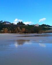 Playa de área en Vivero, Lugo. M. Pilar