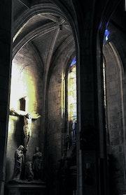 Illumination a l église de guise, ? ?. Marquant Francis