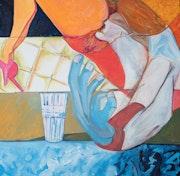 Wasserglas. Bruno Jod