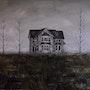 Casa abandonada. Oleo sobre lienzo 61 X 50 cm.. Demonio - Yolanda Molina Brañas