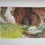 Grotte sainte Anne dans le Jura. Dominique Frere