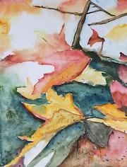 Les feuilles mortes. Blm