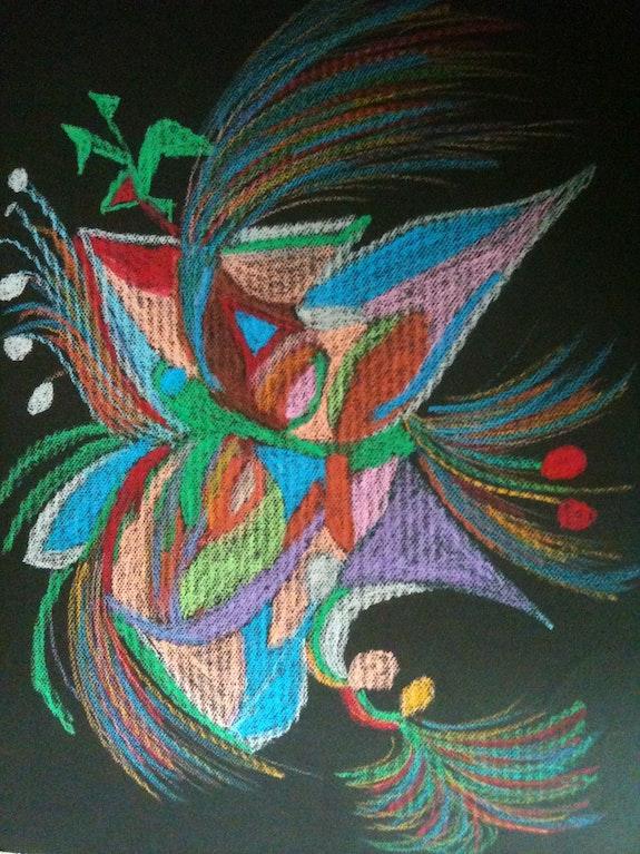 Astral papillon. Monica Monica