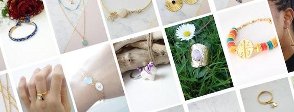 Patchwork de créations de bijoux fantaisie. Les Fées Colorées Les Fées Colorées