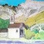 Chapelle sainte marie (hautes alpes). Catherine Souet-Bottiau