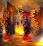 Les flambeaux de la diablesse.
