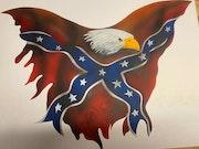 Eagle flag. Steve Kerpics