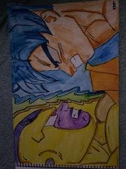 Goku vs frieza.