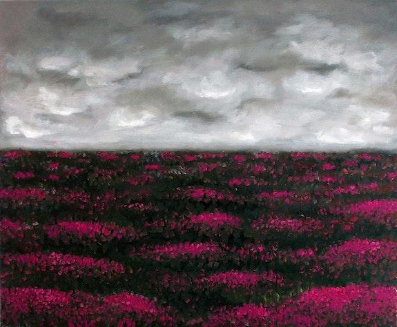 Campo de brezo. Oleo sobre lienzo.. Demonio Demonio - Yolanda Molina Brañas