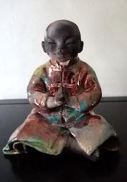Moine tibétain. Nancy Leloup