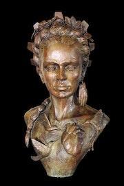 Frida coronada. R. Lowenberg
