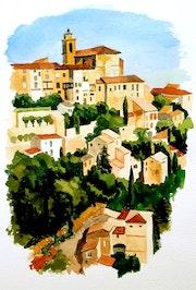 Le très beau village de Gordes.