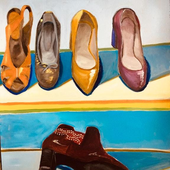 Quelques chaussures de mon placard. Catherine Maury