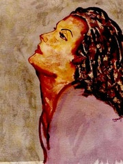 3- Greta Garbo «Esperando un Beso».. Carmen Luna